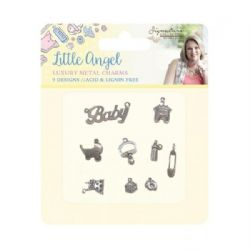 Crafter's Companion Sara Signature Little Angel Collection - Metal Charms
